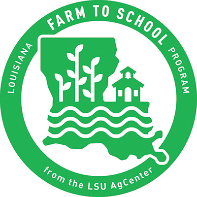 Louisiana Farm to School Logo
