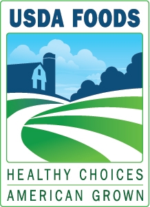 USDA Foods - Healthy Choices American Grown Logo