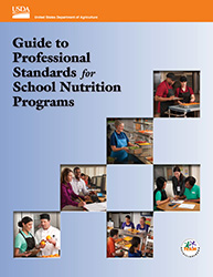 Guide to Professional Standards for School Nutrition Program Cover Image